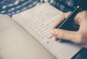 An estate planning checklist is essential for organization.