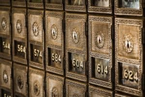 A safe deposit box has limited accessibility.