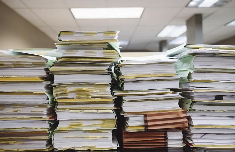 Estate planning paperwork