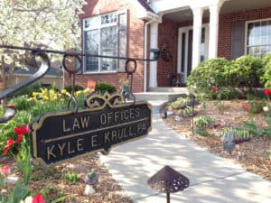 Front entrance to the Law Offices of Kyle E. Krull P.A.