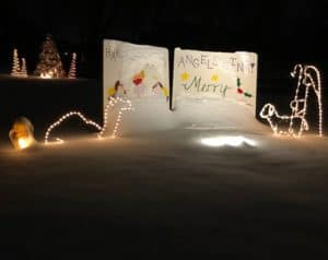 """Krull Family Christmas """"Yard Card"""" 2019"""